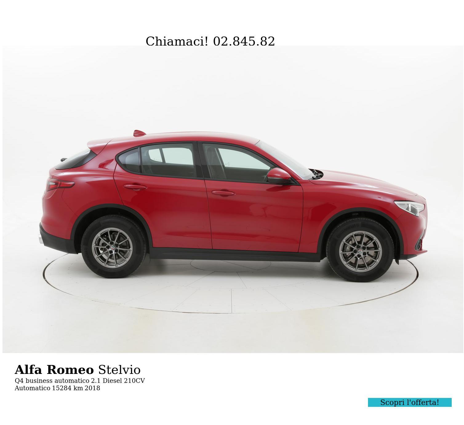 Alfa Romeo Stelvio usata del 2018 con 15.346 km | brumbrum