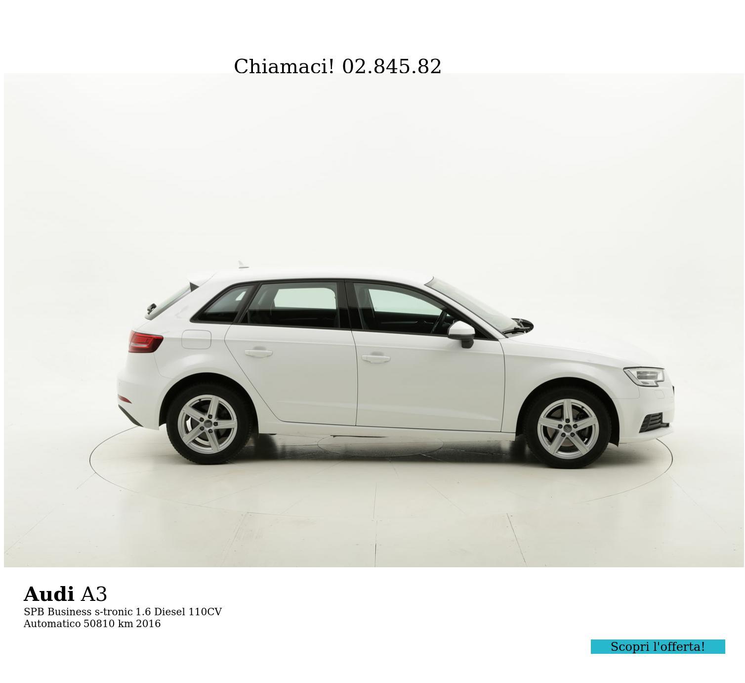 Audi A3 usata del 2016 con 51.200 km | brumbrum