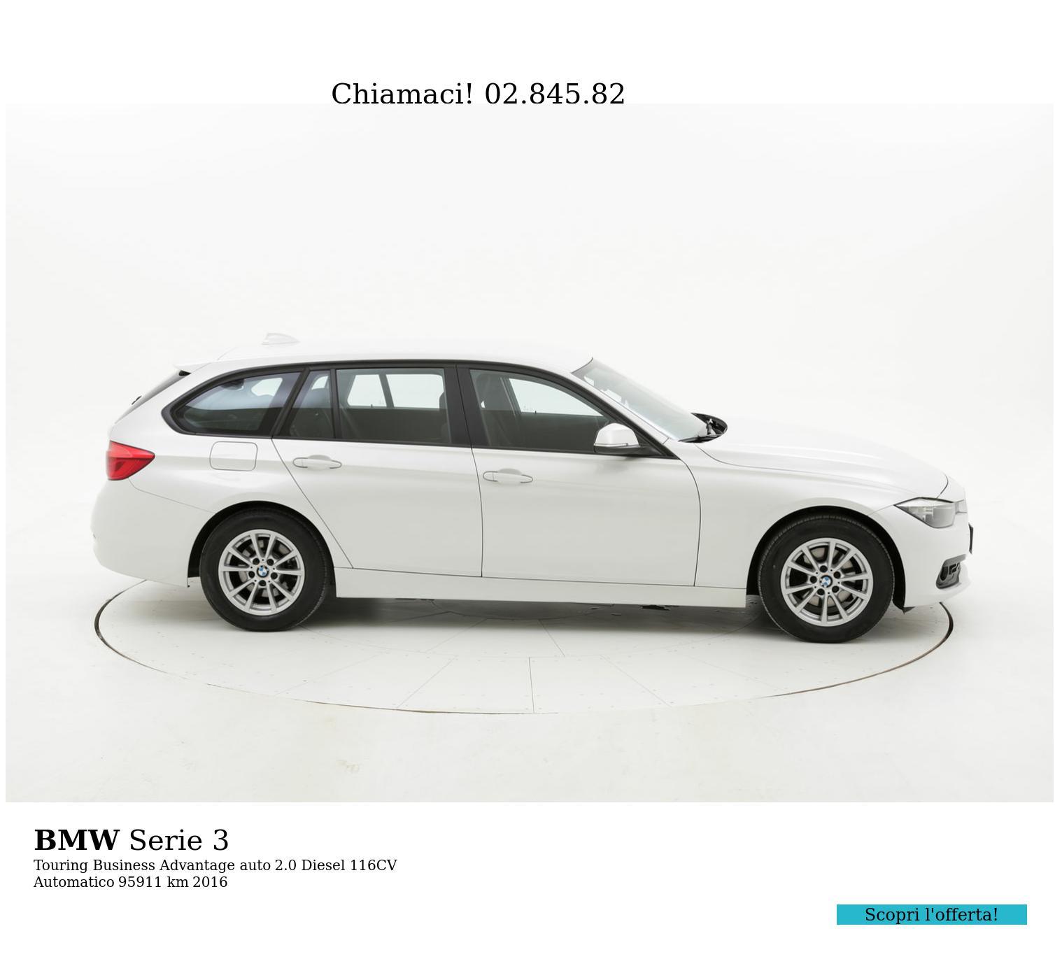 BMW Serie 3 usata del 2016 con 96.301 km   brumbrum