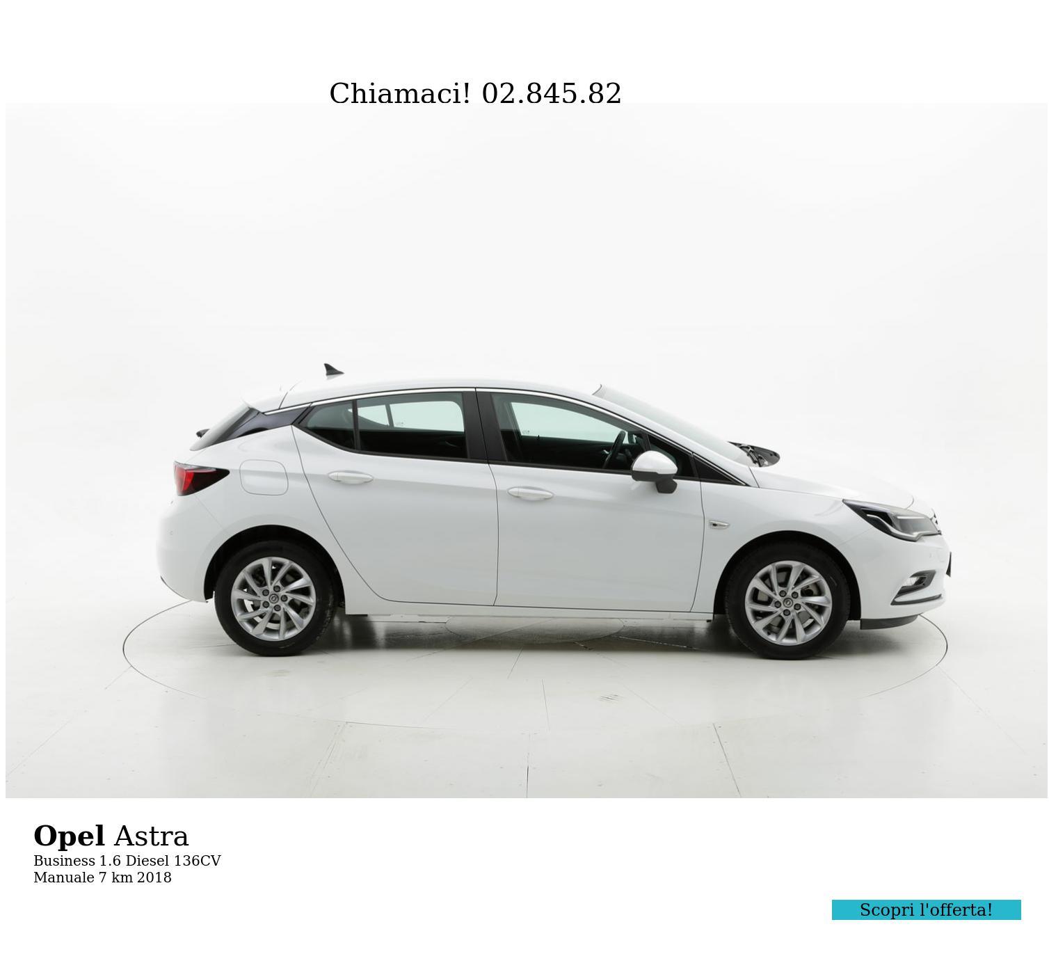 Opel Astra usata del 2018 con 13 km | brumbrum