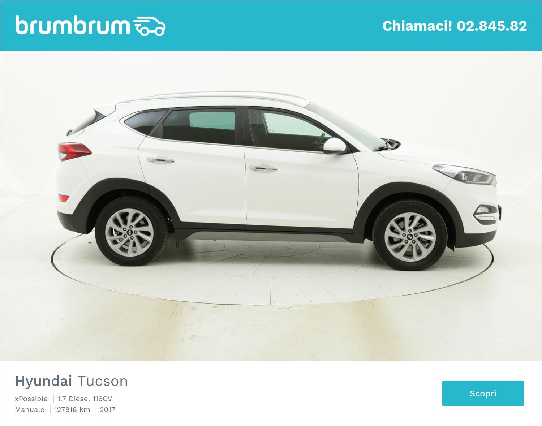 Hyundai Tucson usata del 2017 con 127.833 km | brumbrum