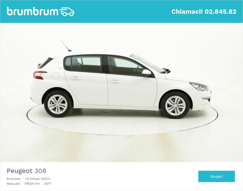Peugeot 308 usata del 2017 con 118.441 km | brumbrum
