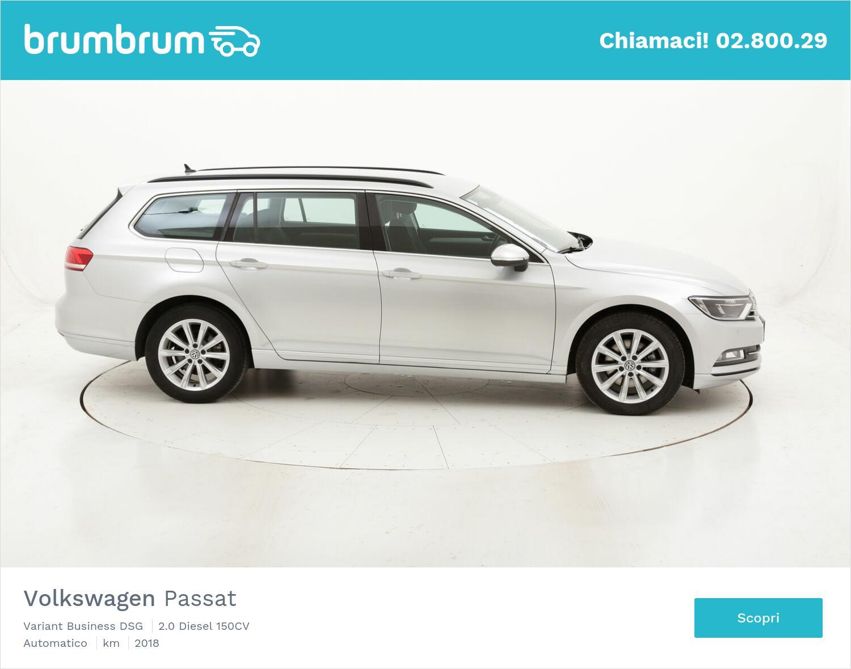 Volkswagen Passat Variant Business DSG usata del 2018 con 117.267 km   brumbrum