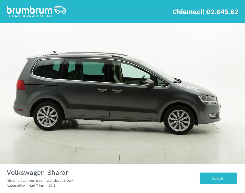 Volkswagen Sharan usata del 2013 con 82.937 km   brumbrum