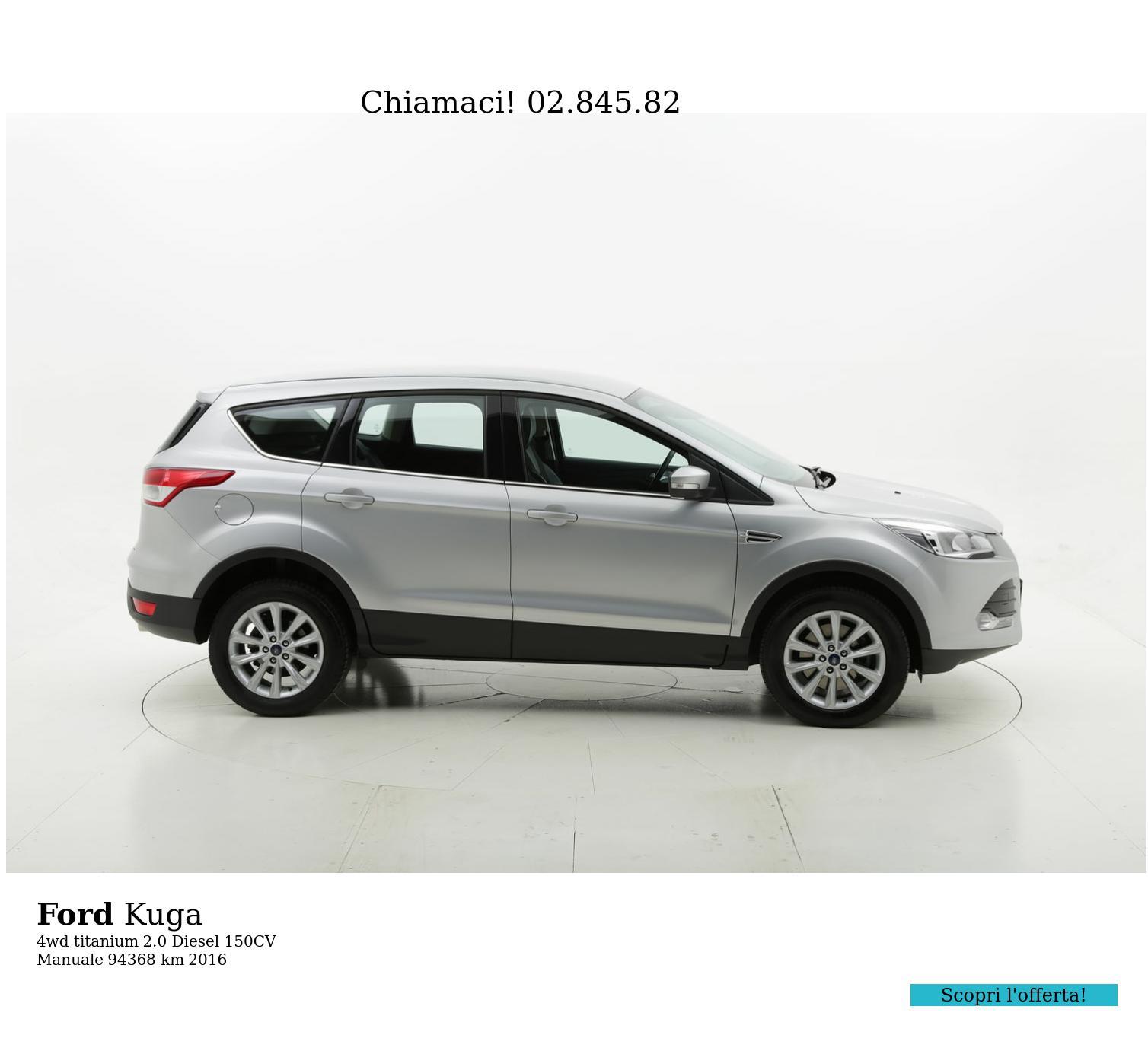 Ford Kuga usata del 2016 con 94.637 km | brumbrum