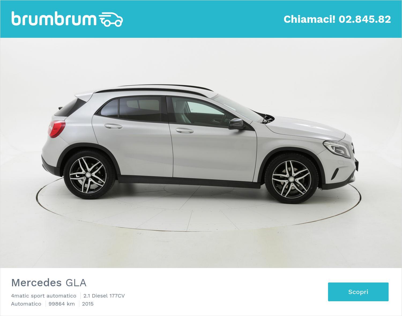 Mercedes GLA usata del 2015 con 100.012 km | brumbrum