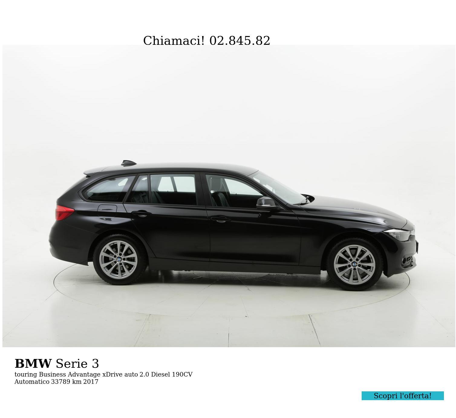 BMW Serie 3 usata del 2017 con 34.062 km | brumbrum
