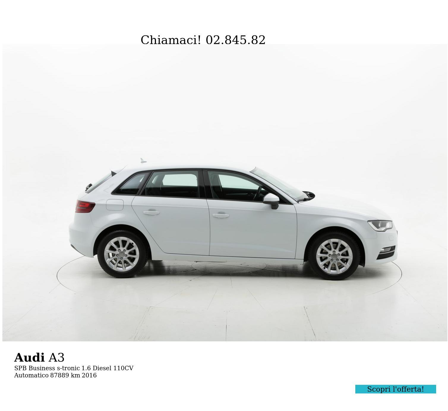 Audi A3 usata del 2016 con 87.999 km | brumbrum