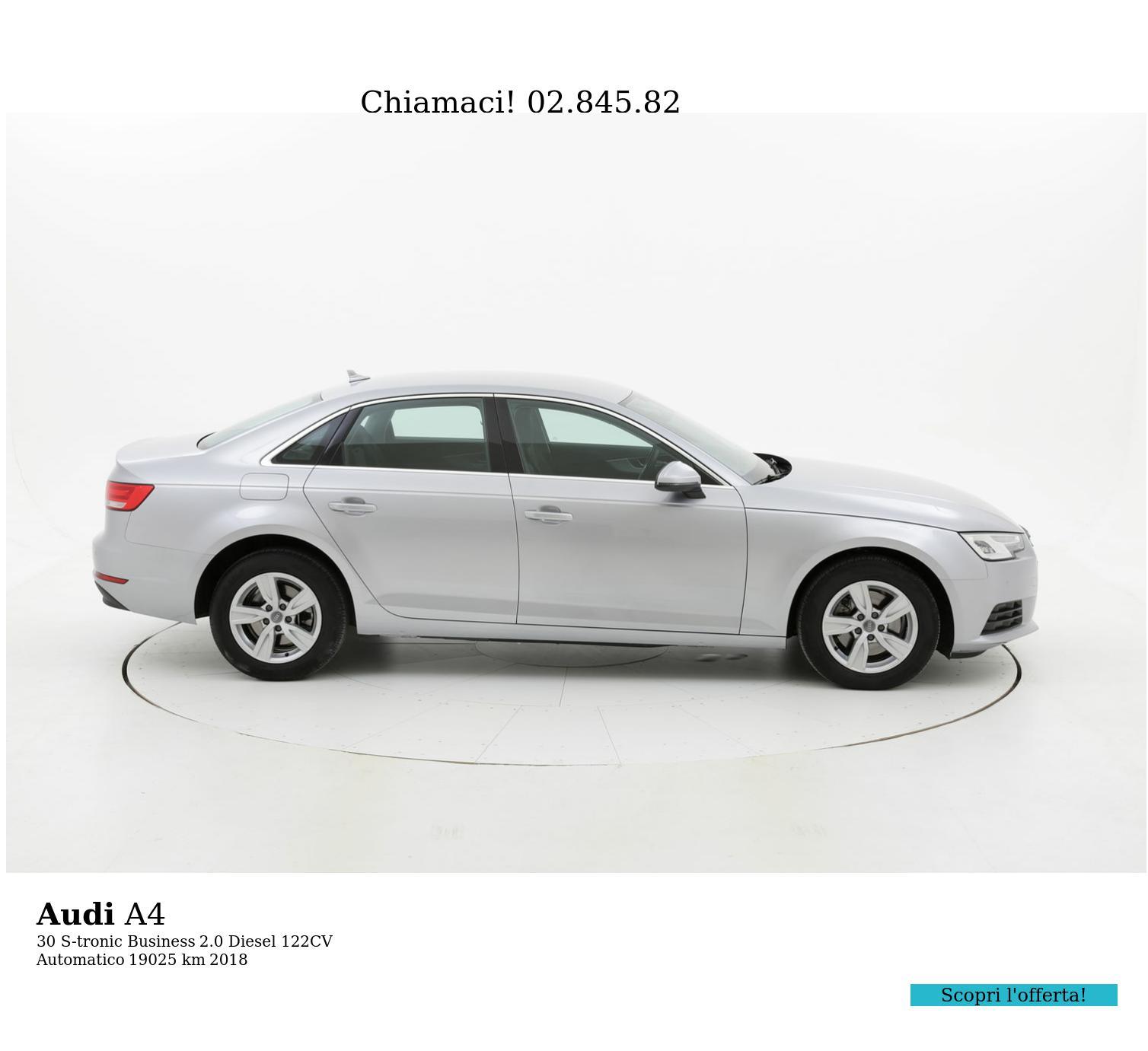 Audi A4 usata del 2018 con 19.691 km | brumbrum