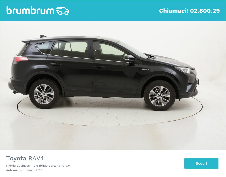 Toyota RAV4 Hybrid Business usata del 2018 con 67.681 km   brumbrum
