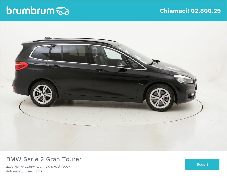 BMW Serie 2 Gran Tourer 220d xDrive Luxury Aut. usata del 2017 con 97.696 km   brumbrum