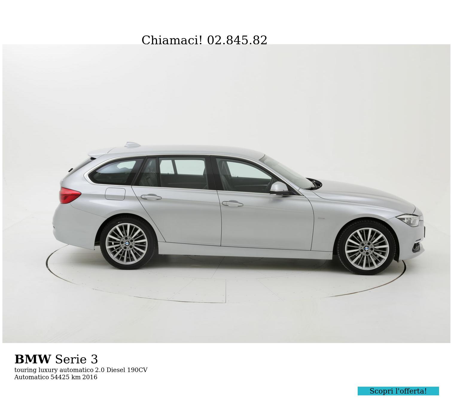 BMW Serie 3 usata del 2016 con 54.552 km | brumbrum