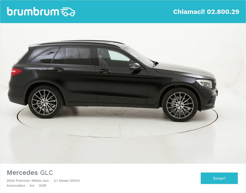 Mercedes GLC 250d Premium 4Matic Aut. usata del 2018 con 61.126 km | brumbrum