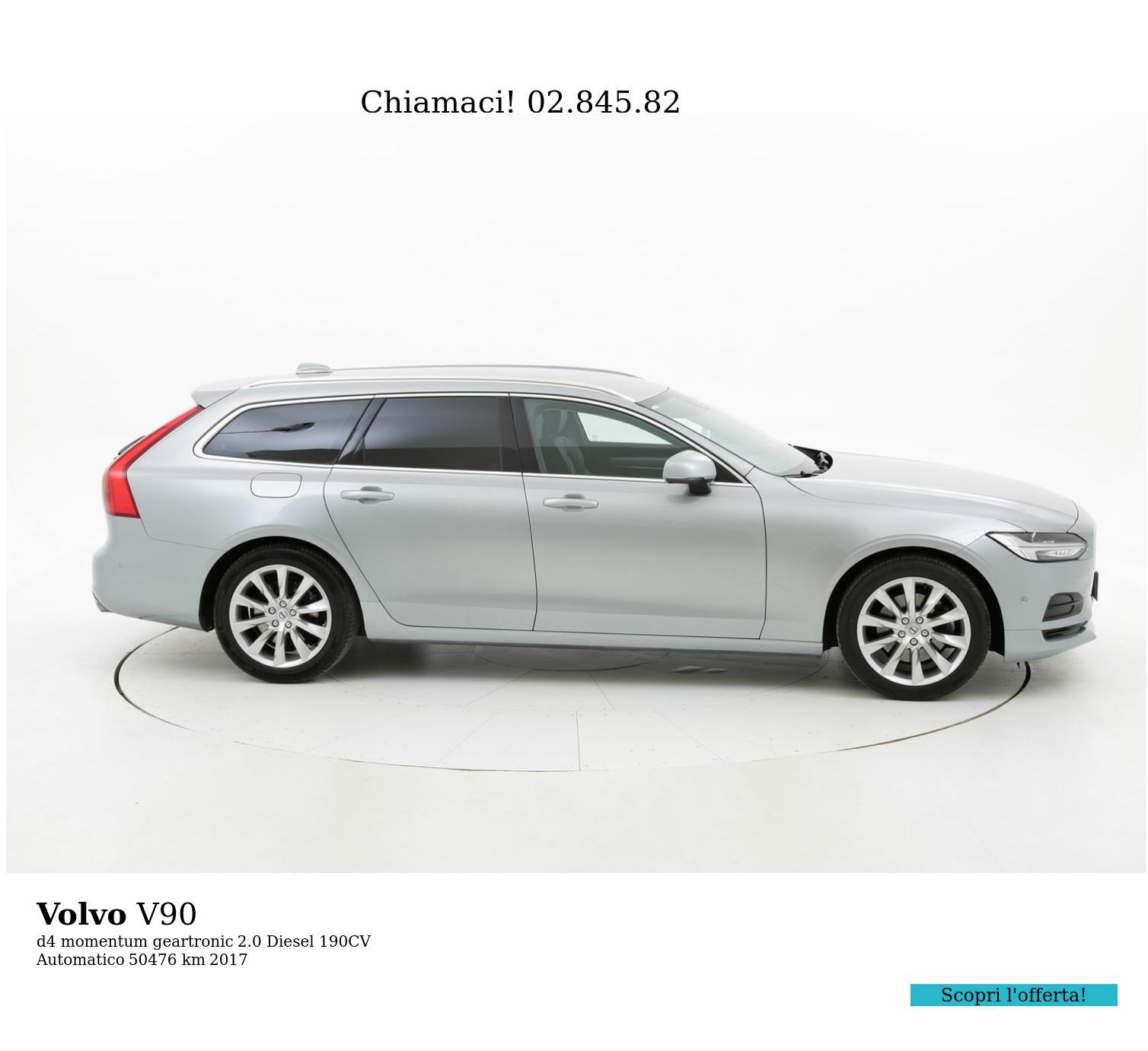 Volvo V90 usata del 2017 con 51.004 km | brumbrum