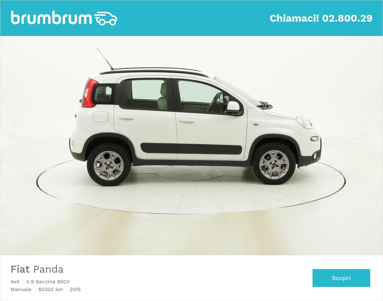 Fiat Panda usata del 2015 con 60.371 km   brumbrum