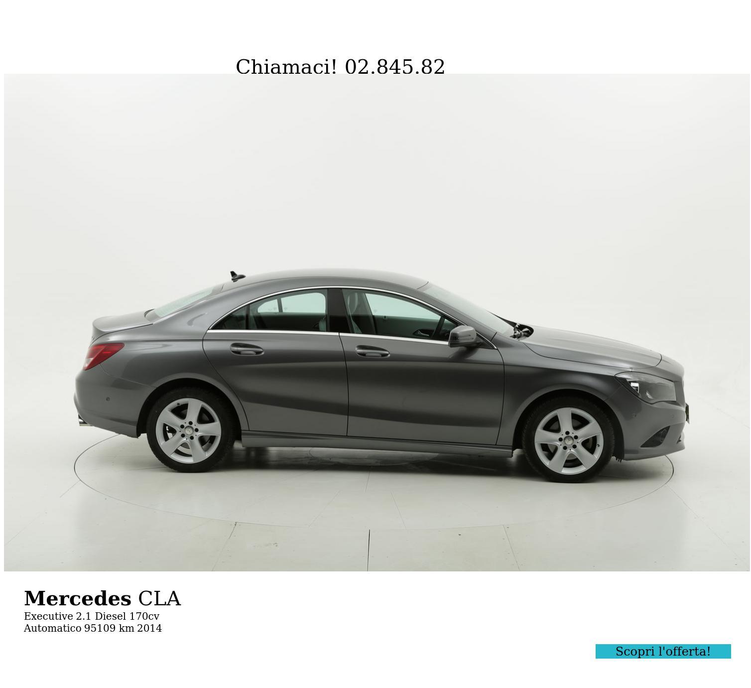 Mercedes CLA usata del 2014 con 95.141 km | brumbrum