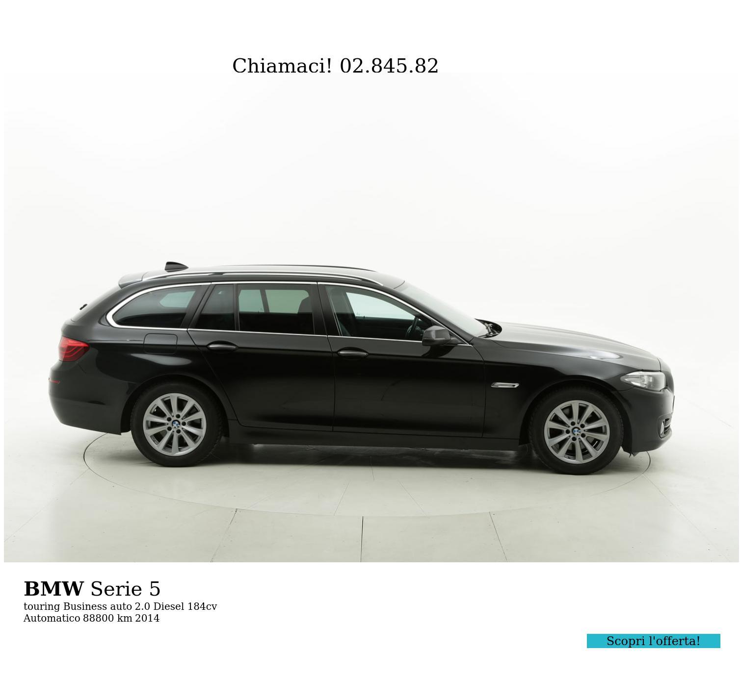 BMW Serie 5 usata del 2014 con 88.939 km   brumbrum