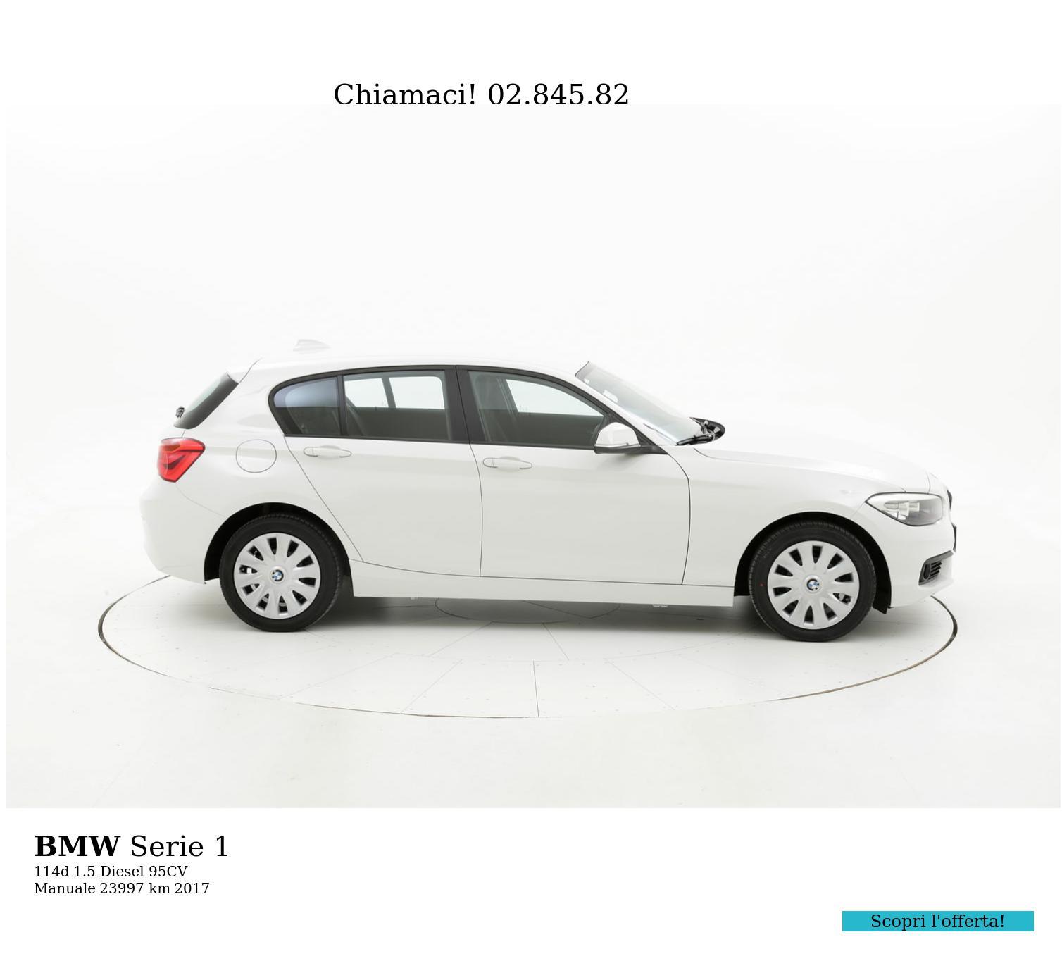 BMW Serie 1 usata del 2017 con 24.190 km | brumbrum