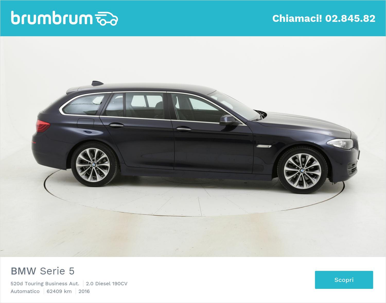 BMW Serie 5 usata del 2016 con 62.639 km | brumbrum