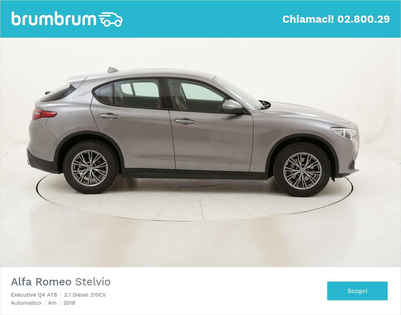 Alfa Romeo Stelvio Executive Q4 AT8 usata del 2018 con 134.342 km   brumbrum