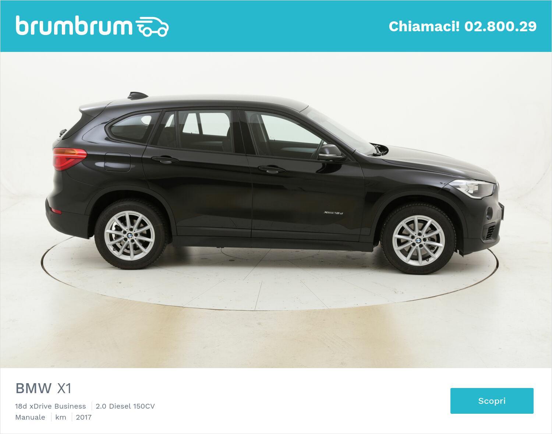 BMW X1 18d xDrive Business usata del 2017 con 31.591 km   brumbrum