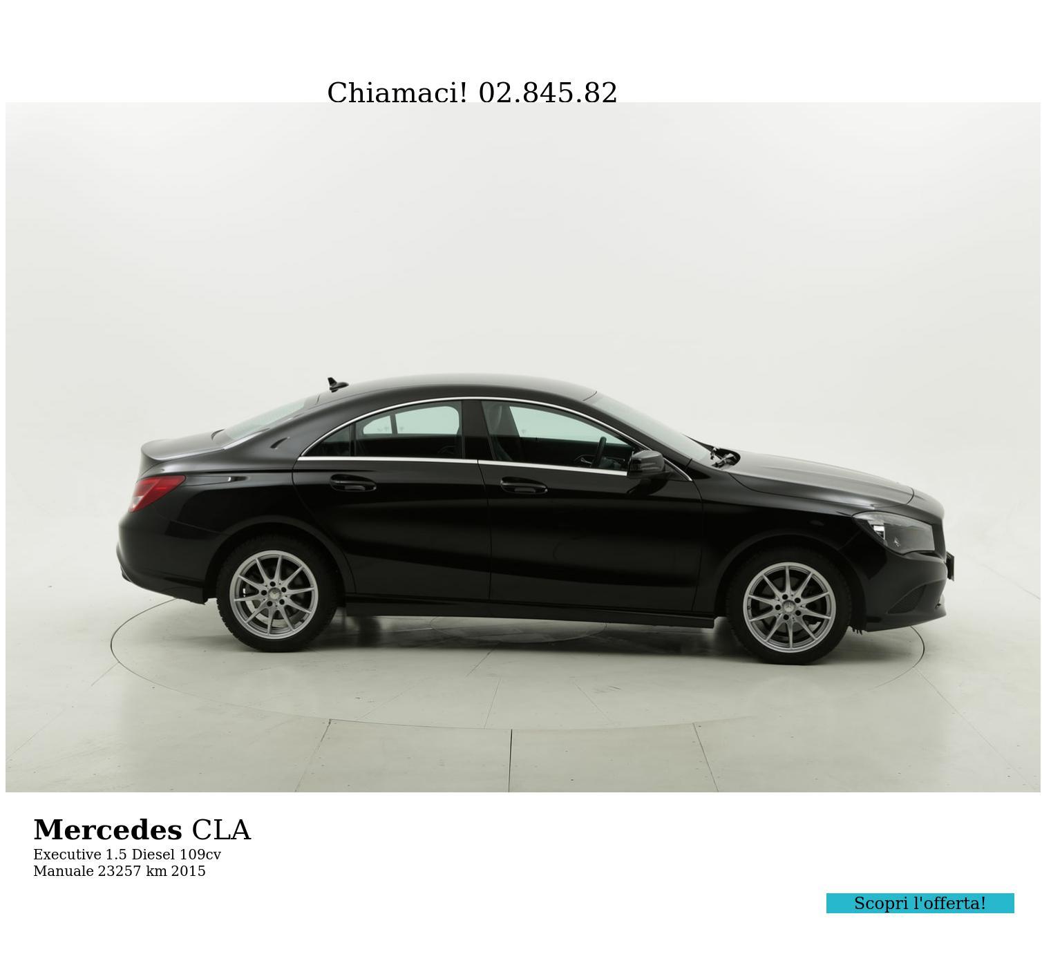 Mercedes CLA usata del 2015 con 23.565 km | brumbrum