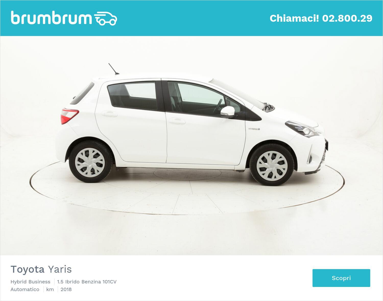 Toyota Yaris Hybrid Business usata del 2018 con 29.787 km   brumbrum