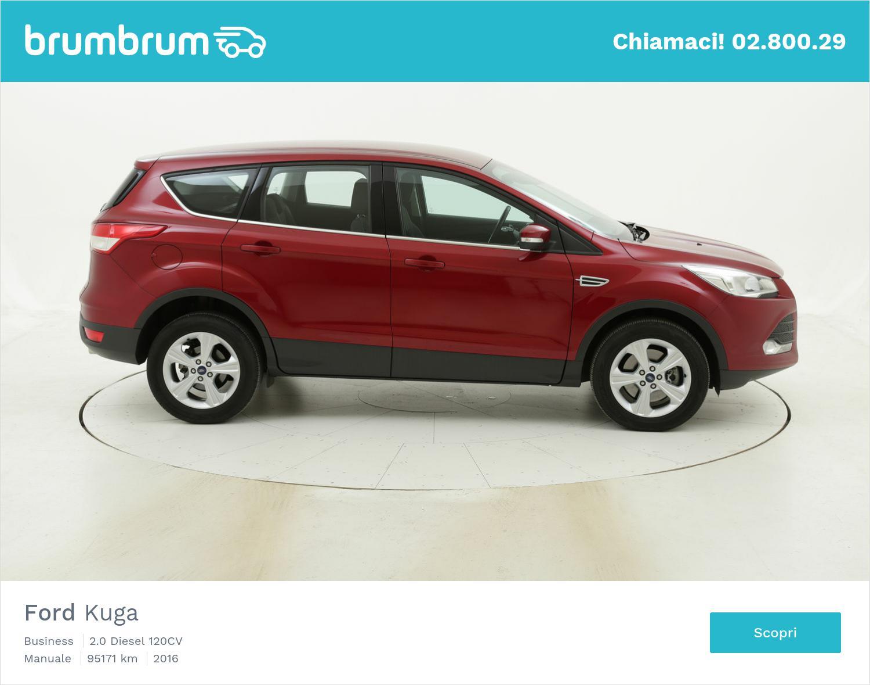 Ford Kuga usata del 2016 con 95.598 km | brumbrum