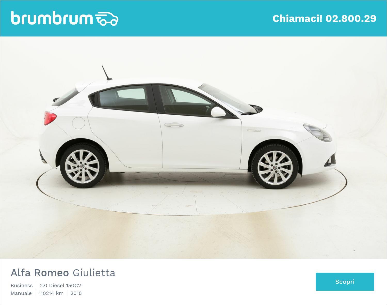 Alfa Romeo Giulietta Business usata del 2018 con 110.619 km | brumbrum