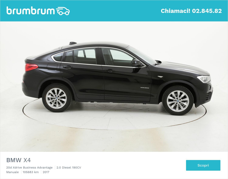 BMW X4 usata del 2017 con 105.948 km | brumbrum
