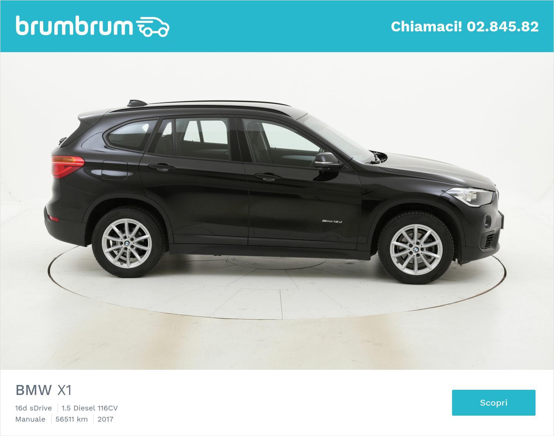 BMW X1 usata del 2017 con 56.533 km   brumbrum
