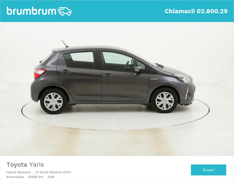 Toyota Yaris Hybrid Business usata del 2018 con 30.996 km   brumbrum