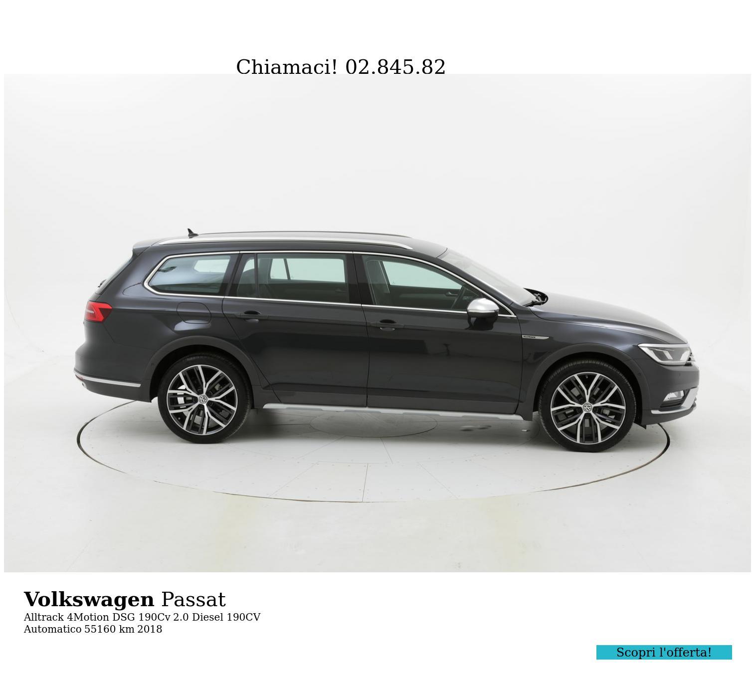 Volkswagen Passat usata del 2018 con 55.617 km | brumbrum