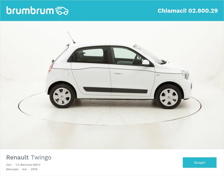 Renault Twingo Zen usata del 2016 con 83.430 km | brumbrum