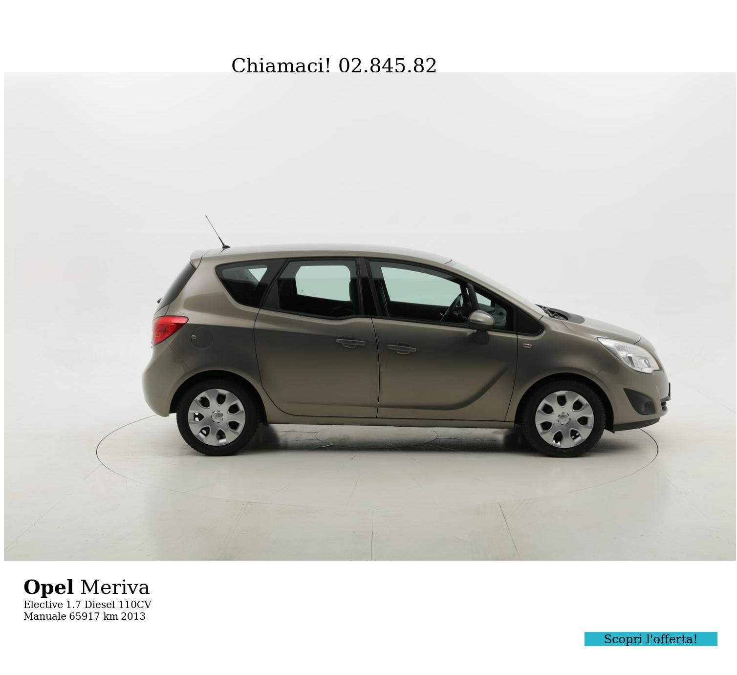 Opel Meriva usata del 2013 con 66.449 km | brumbrum