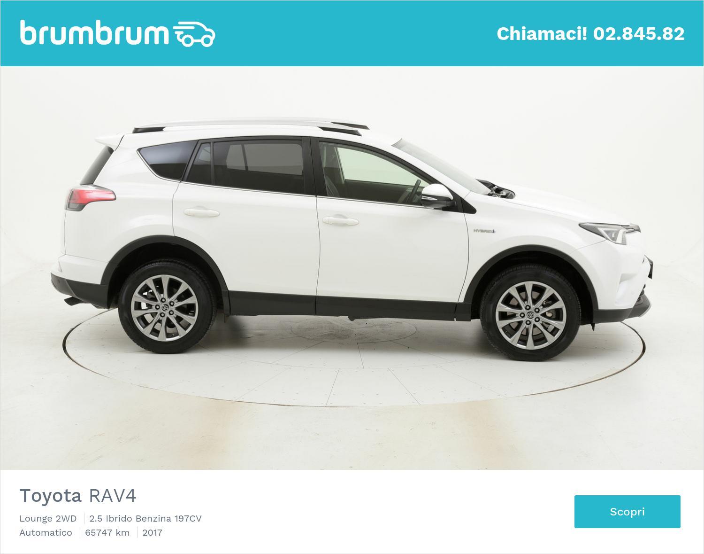 Toyota RAV4 usata del 2017 con 65.782 km | brumbrum