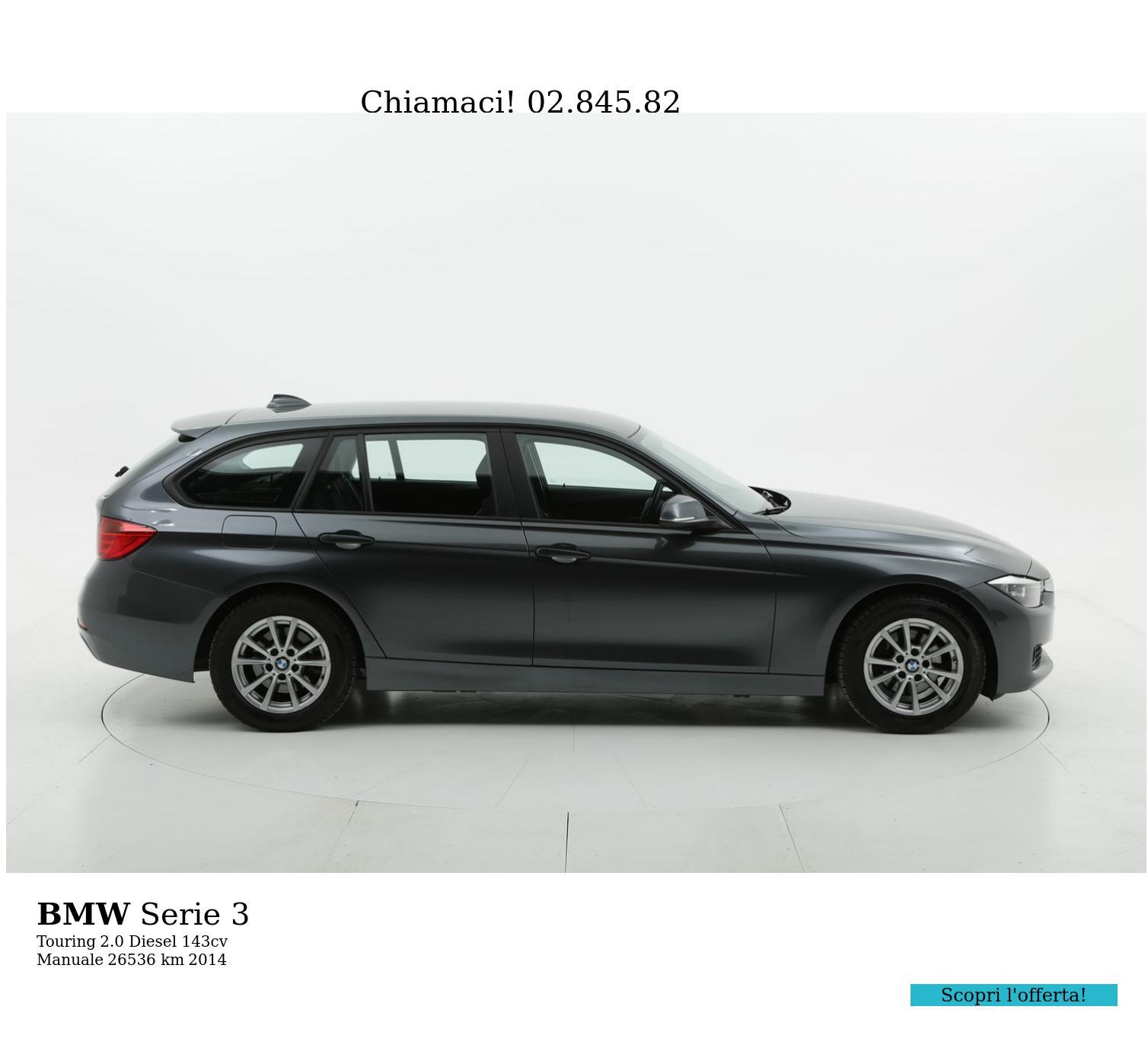 BMW Serie 3 usata del 2014 con 26.538 km | brumbrum