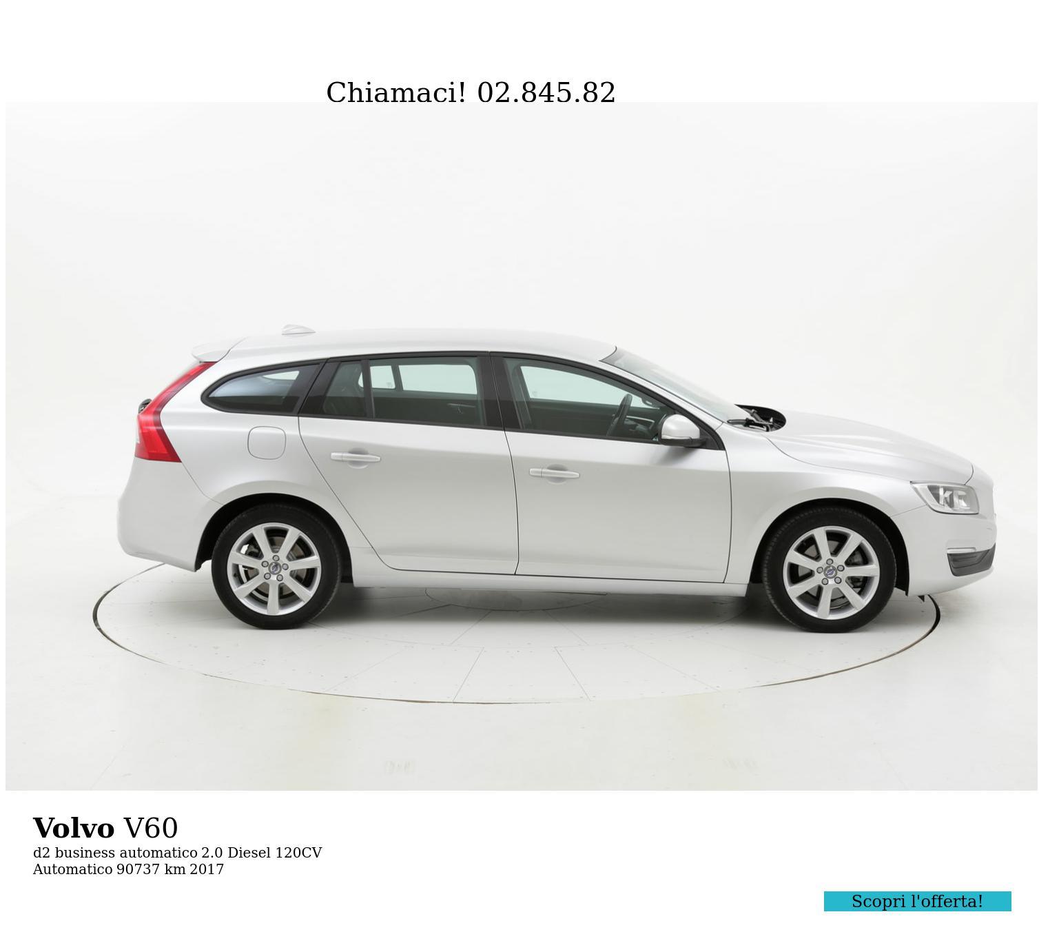 Volvo V60 usata del 2017 con 91.052 km | brumbrum