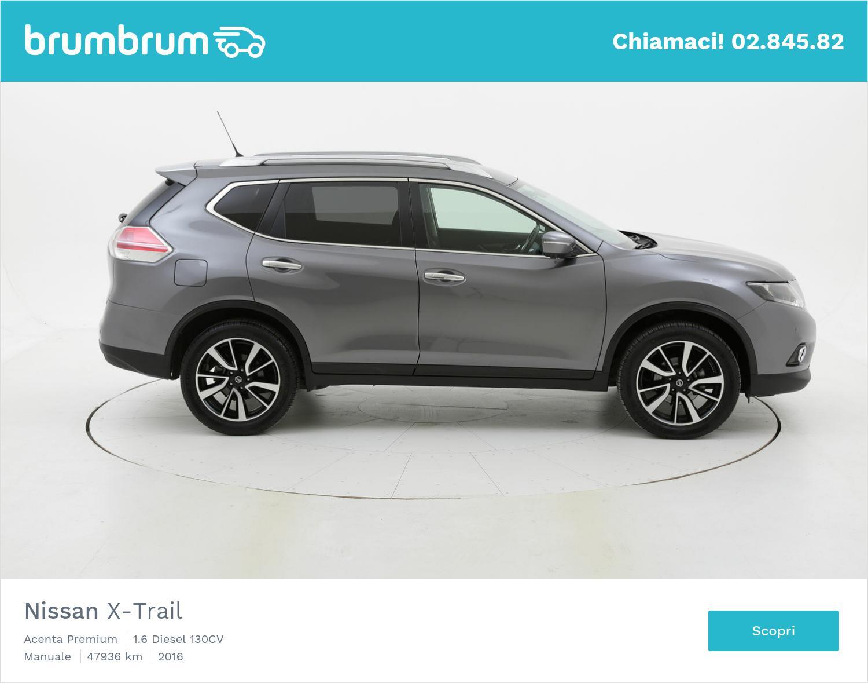 Nissan X-Trail usata del 2016 con 48.132 km | brumbrum