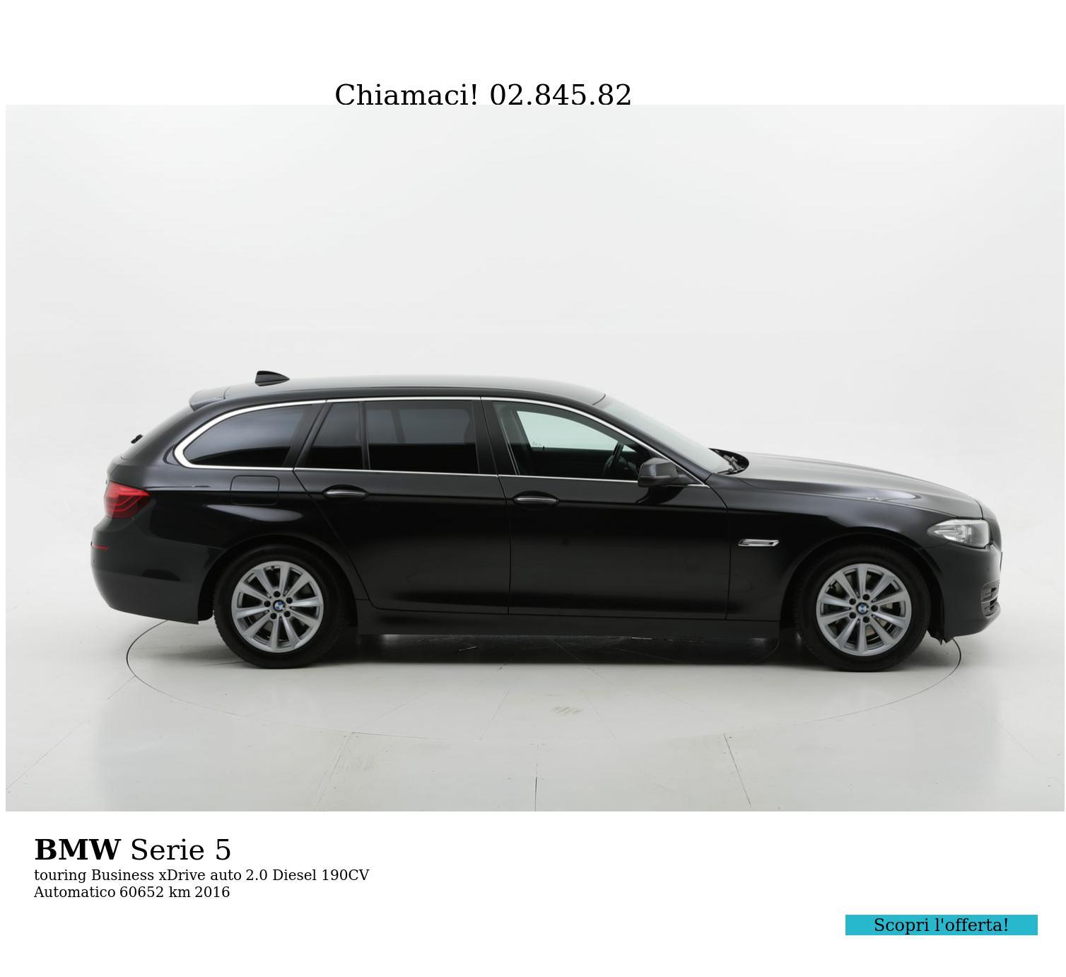 BMW Serie 5 usata del 2016 con 60.789 km | brumbrum