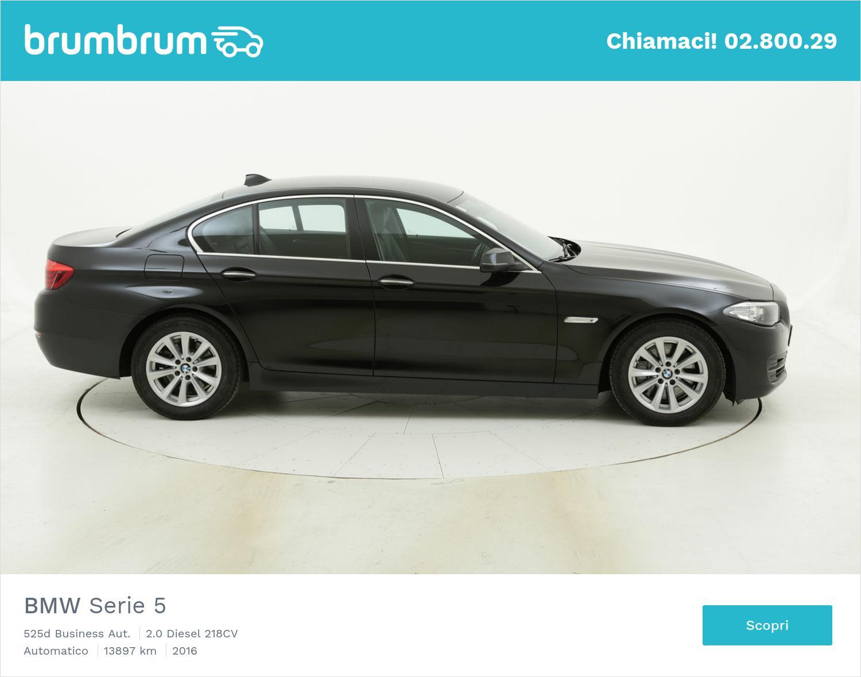 BMW Serie 5 525d Business Aut. usata del 2016 con 13.989 km | brumbrum