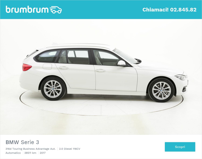 BMW Serie 3 usata del 2017 con 38.724 km | brumbrum
