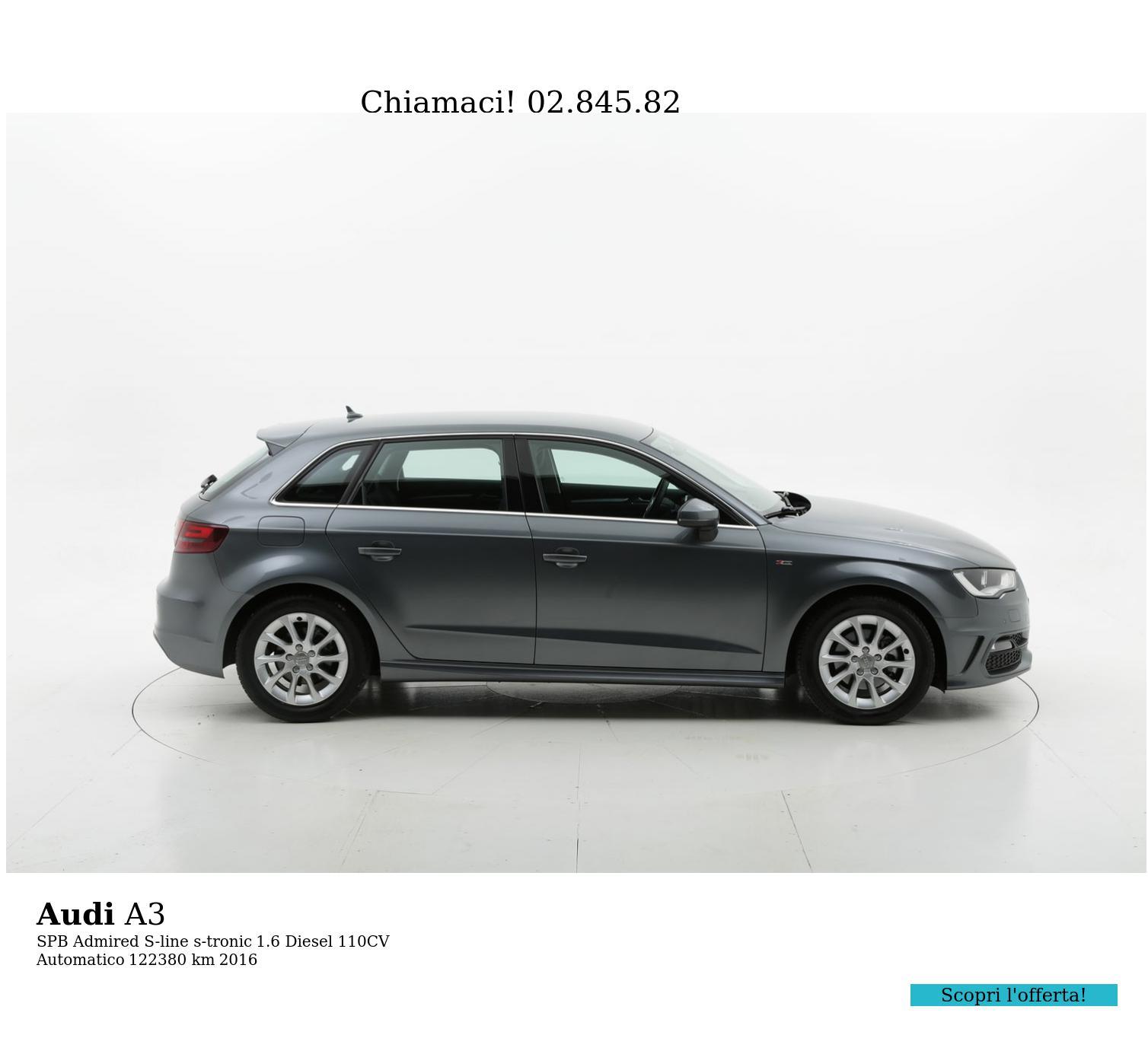 Audi A3 usata del 2016 con 122.584 km | brumbrum