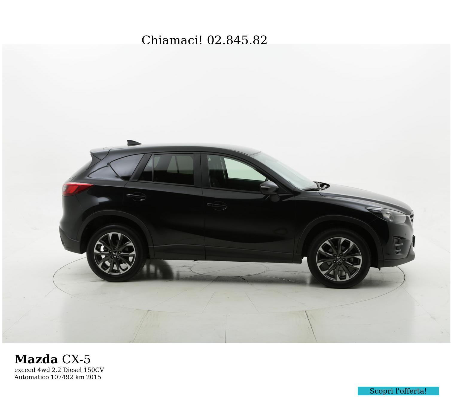 Mazda CX-5 usata del 2015 con 108.087 km | brumbrum