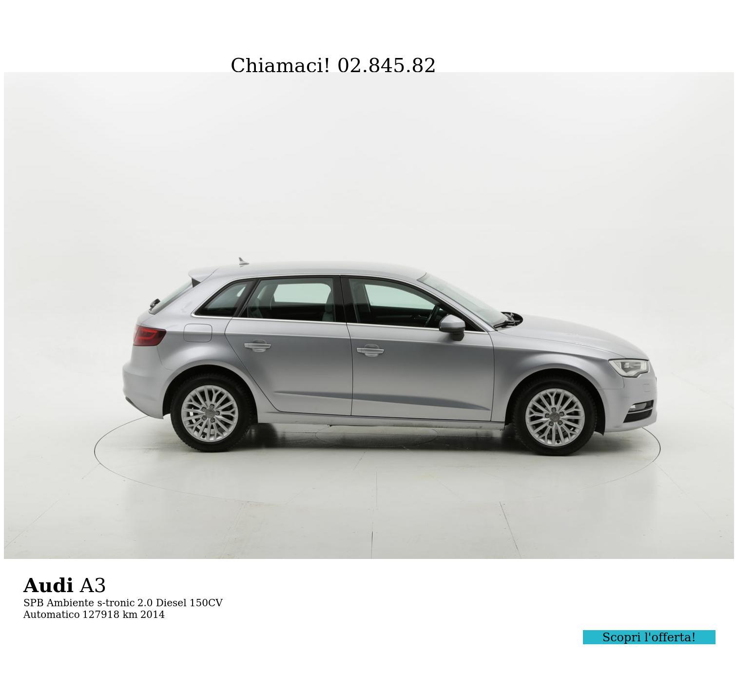 Audi A3 usata del 2014 con 127.945 km | brumbrum