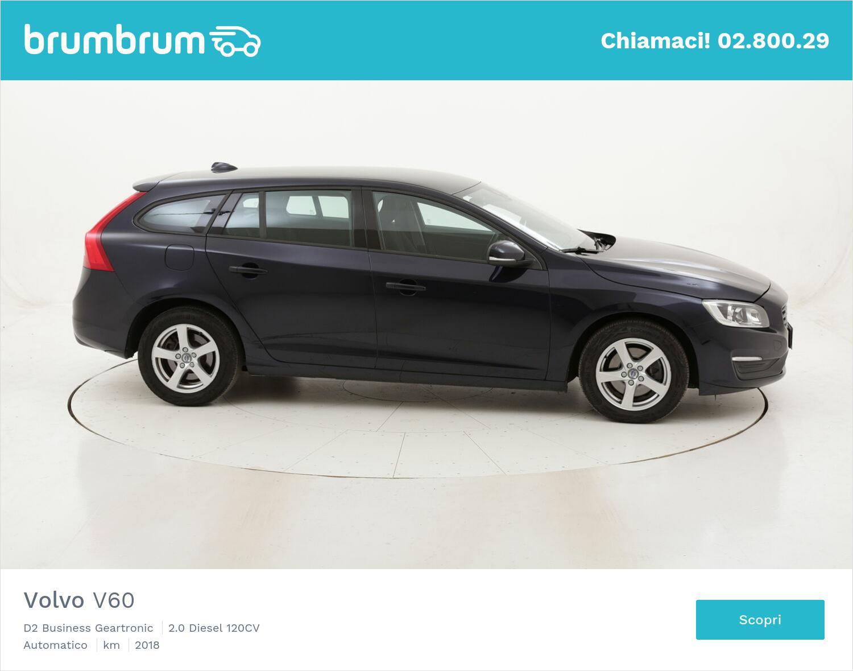 Volvo V60 D2 Business Geartronic usata del 2018 con 123.649 km   brumbrum