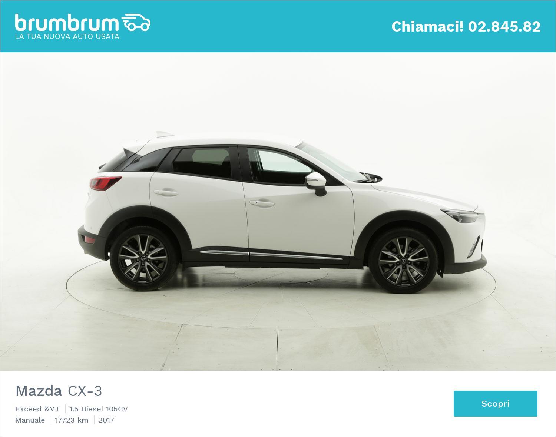 Mazda CX-3 usata del 2017 con 17.889 km | brumbrum