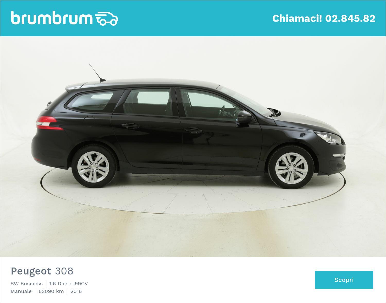 Peugeot 308 usata del 2016 con 82.422 km | brumbrum
