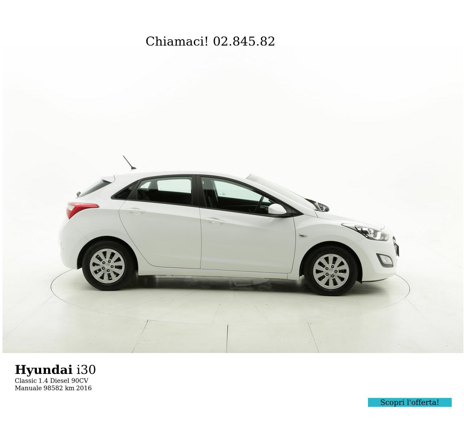 Hyundai I30 usata del 2016 con 99.028 km | brumbrum