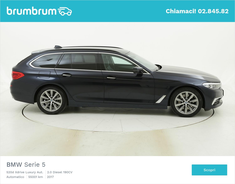 BMW Serie 5 usata del 2017 con 55.012 km | brumbrum